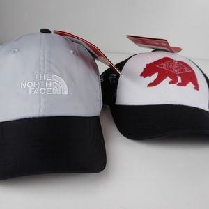 North Face Youth Bear Patches & Tech Hat Bundle